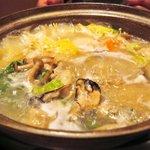 和創菜 月亭 - 牡蠣みぞれ鍋