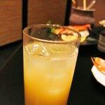 和創菜 月亭 - グレープフルーツ梅酒