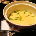 和創菜 月亭 - 海老入り茶碗蒸し