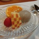 割烹 味香佐 - ⑦甘『デザート』