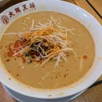 大阪王将 - 「極太担々麺」(760円)。