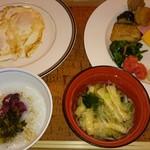 terasudainingumike-ra - この日の朝食。
