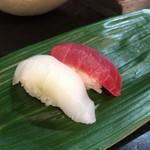 鮨 清水 - 烏賊と赤身
