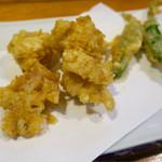 うま安 - はまぐり天ぷら 750円