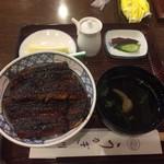 川貞 - 料理写真:うなぎ丼竹