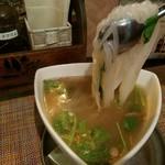 池袋ベトナム料理 アジアンタオ - 〆のフォー