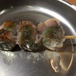 ヤキトリリバティ - 梅しそ豚巻き