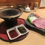 ちょぼや - 料理写真:熊野牛鉄板焼き