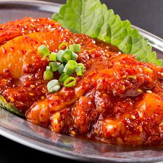 とにかく美味い謎の肉!!名物「幻の鶏ホルモン」777円