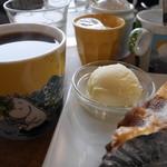 喫茶 ほんまち - タルト。