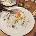 たび屋 - 完食❤︎お皿も素敵❤︎