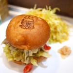 deli fu cious - 西京焼き最強バーガー&自家製コールスロー ガリ付き