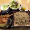 越前 - 料理写真:天丼セット