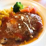 フランス飯屋 ア・ラ・山田亭 - ポークソテー、ソースが最高! お肉も柔らか。