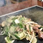 広島焼 三原茶屋 - 料理写真: