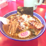 ラーメン いっとく - 料理写真:バラ焼き豚ラーメン1150円