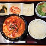 62514048 - 純豆腐チゲ定食 790→540円