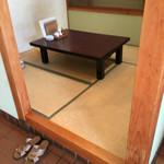 芝勝寿司 - テーブル席