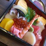 芝勝寿司 - ちらし上