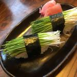 芝勝寿司 - 芽ねぎ
