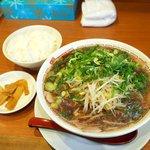 二両半 - ラーメン定食(並)680円