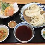 62515504 - 鶏ささみ天ぷらうどん  750円