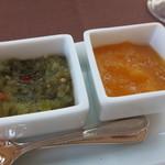 デーメテール千疋屋 - スイートビクルスとマンゴーのピュレ