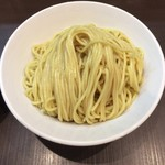 麺屋りゅう - つけめんの麺(特盛)