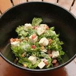 ARK HiLLS CAFE - 有機ケールとフェタチーズのサラダ