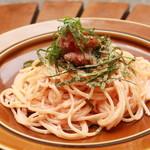 ARK HiLLS CAFE - 炙り明太子クリームのスパゲッティ