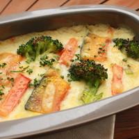 ARK HiLLS CAFE - 1/2日分の緑黄色野菜の豆乳グラタン