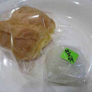 きさらぎ - 料理写真:シュークリーム、枝豆餅