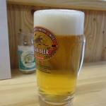 62523980 - 「生ビール」480円也。