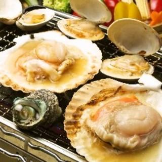 佐渡島の名産が詰まった宴会プラン