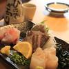 鎌倉おでん波平 - 料理写真: ほうぼう ひらめ 鯵を三種盛にしてもらいました