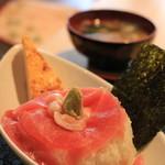 鎌倉おでん波平 -  鉄火丼定食