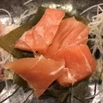 米清あら川 - 鮭です。