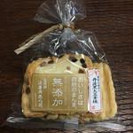 法善寺あられ - 無添加丹波黒豆素焼 9枚 347円(税別)