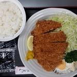 駒一番 - ロースカツ(大)定食