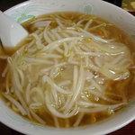 中華料理 しむら - もやしラーメン