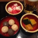 丸亀製麺 - お惣菜3品