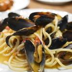 シチリア屋 - ムール貝のスパゲットーニ