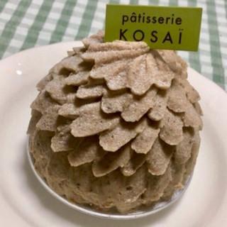 コサイ - 料理写真:岩間栗のモンブラン .。.:*☆