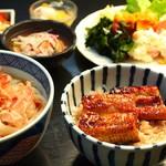 シャンデリア・レストラン - 料理写真:うな丼セット