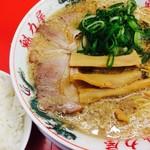 ラーメン魁力屋 - 餃子定食