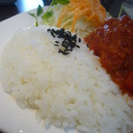 Cafe 純菓 - ハンバーグランチ(白飯)