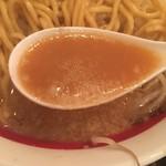 千石自慢らーめん - スープ