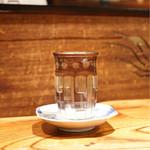炭火割烹 蔓ききょう - 奥琵琶湖の地酒です。