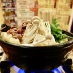 桜鍋 吉し多 - [2017/01]桜鍋(1000円)