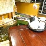 網元 - 生簀を見下ろす個室